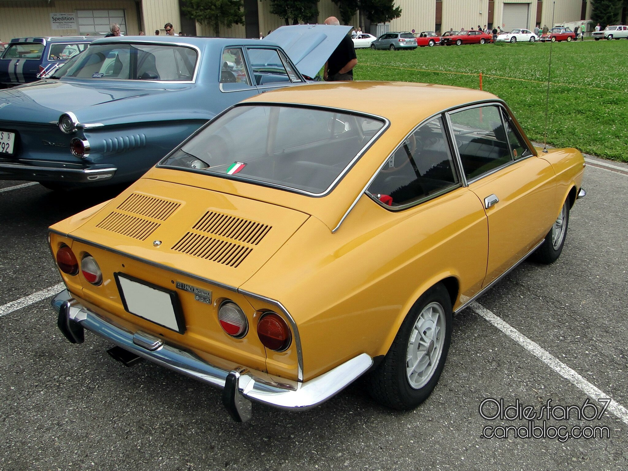 fiat 850 sport coupe 3e s rie 1971 1972 oldiesfan67 mon blog auto. Black Bedroom Furniture Sets. Home Design Ideas