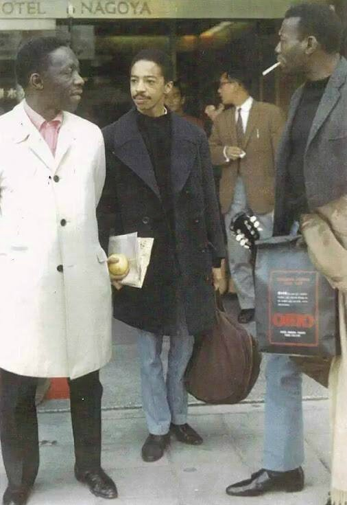 Art Blakey,Tony Williams and Elvin Jones Japan 1966