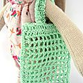 lapine Maileg et sac au crochet (2)