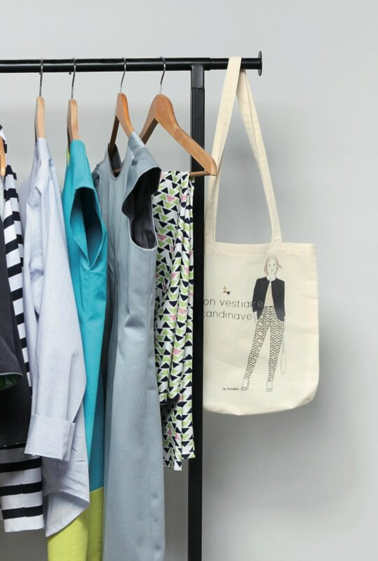 photo tote bag vestiaire scandinave