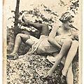 Deux anglaises hervé jean pierre- vintage photo