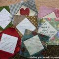 Un carré patchwork pour le japon