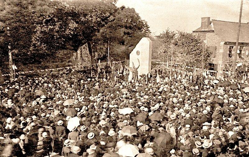 TRELON-Inauguration Monument aux morts-Patrick Pagnier