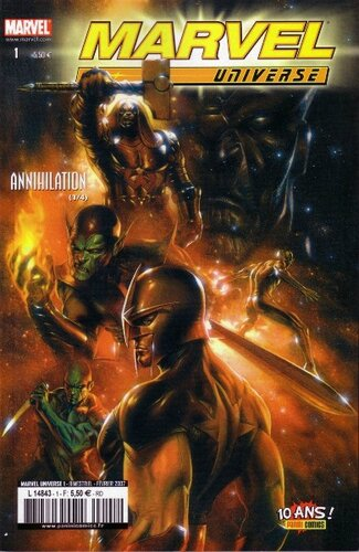 marvel universe 01 annihilation