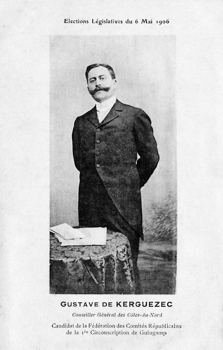 1906 de Kerguezec législative