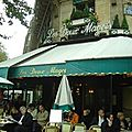 Saint Germain Deux magots