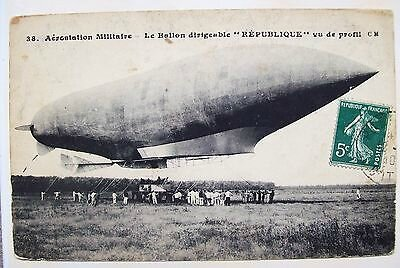 Ballon-Dirigeable-Militaire-le-Republique