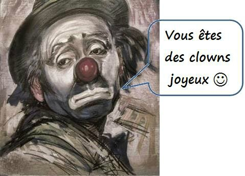 Clowns En direct Drouot