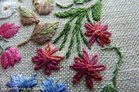 Broderie Mille et une fleurs Canevas Folies (10)