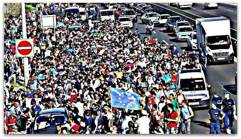 Migrants Hongrie Autriche