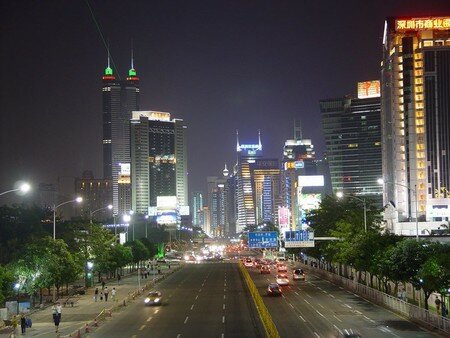 Shenzhen_night_street