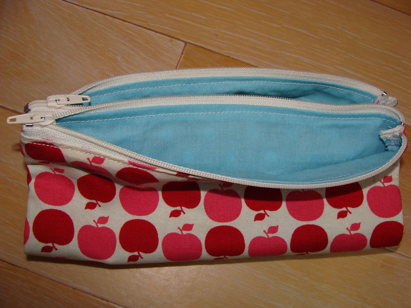 Tuto couture trousse ecolier for Couture trousse