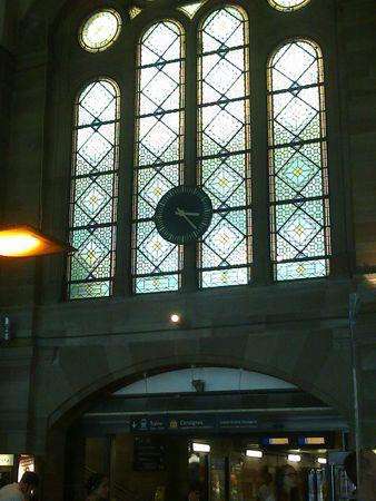 horloge gare strasbourg 2