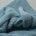 Trendy chale coton cashmere