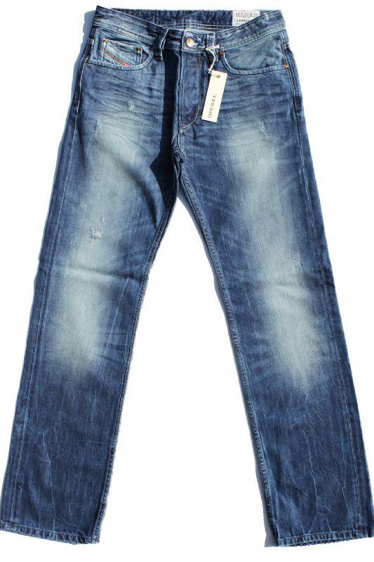jeans diesel larkee zip 8b9 homme coupe droite. Black Bedroom Furniture Sets. Home Design Ideas