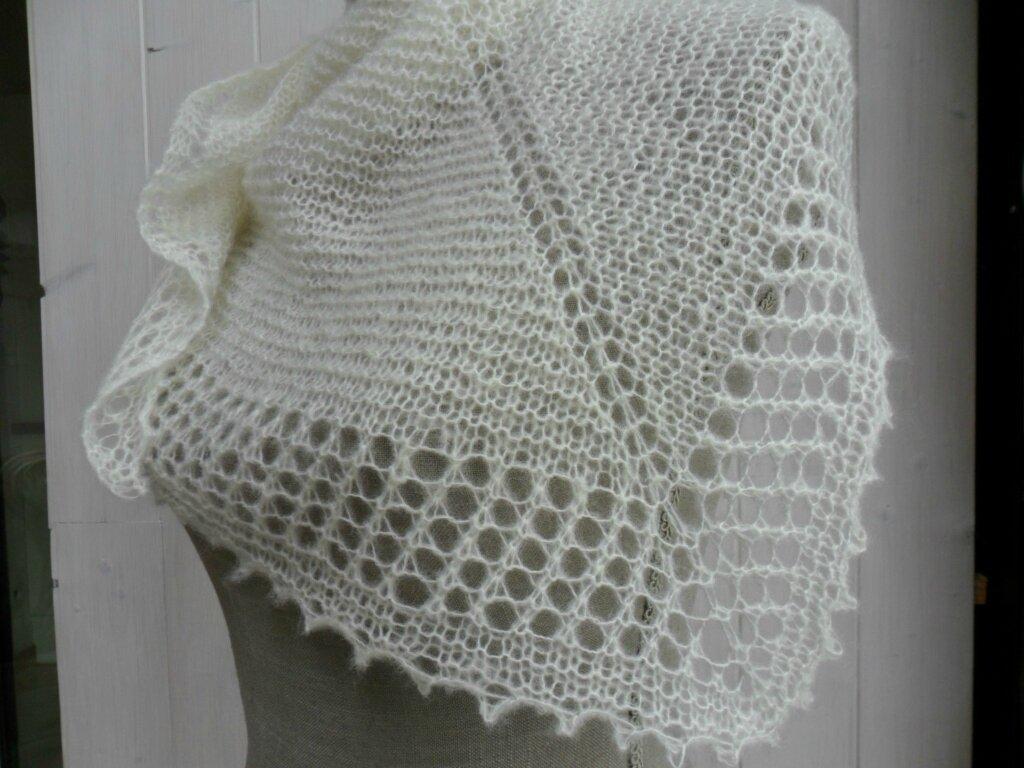 tuto tricot chale facile
