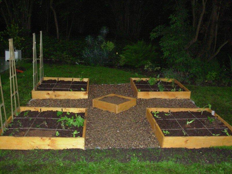 Jardin en carr s mon jardin aux hortillons for Jardin en carre fabrication