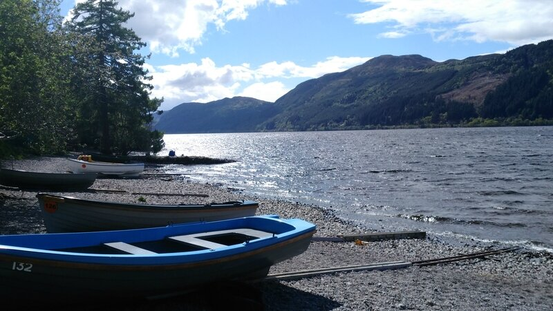 Les Bords du Loch Ness (Ecosse)