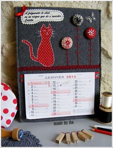 *Scénettes (calendrier): à fréquenter le chat...
