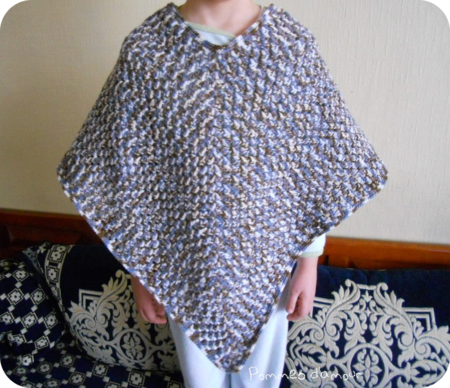 poncho bis rond