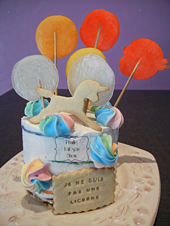 rainbow pancake cake prunillefee