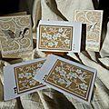 Cartes de vœux, série 2 !