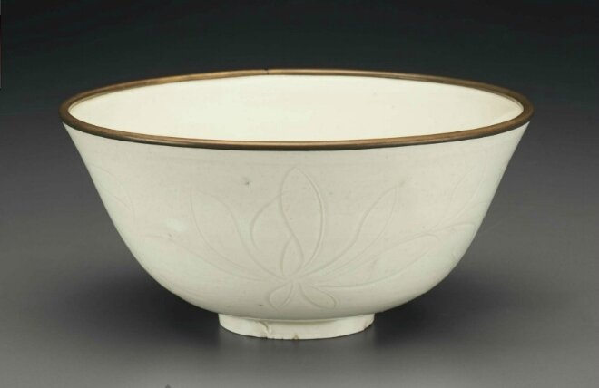 An unusual Dingyao carved bowl, Northern Song dynasty, 11th-12th century