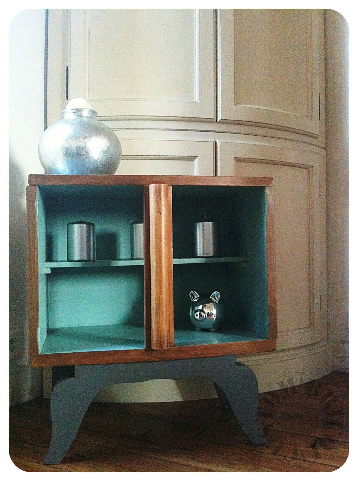 desserte vintage custom 39 bricol 39 boutique. Black Bedroom Furniture Sets. Home Design Ideas