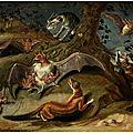 Jan van kessel the elder (1626 antwerp - 1679), allegory of the night, ca. 1660