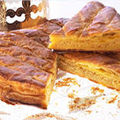 Galette des Rois  la frangipane 