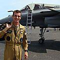 22/07/2012 - rencontre avec le capitaine brocard, pilote de rafale