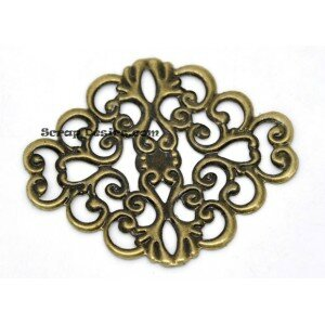 conecteur-filigrame-bronze-arabesque