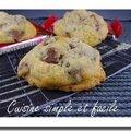 Cookies au kit kat
