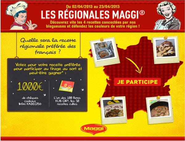 appli regionales maggi blog chez requia cuisine et confidences