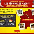L'atelier Maggi et ses recettes des 4 coins de la France