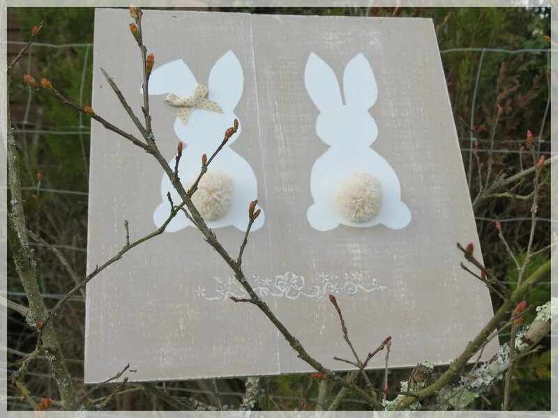 tableau lapin 2