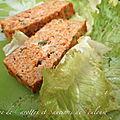 Terrine de carottes et saucisses de toulouse