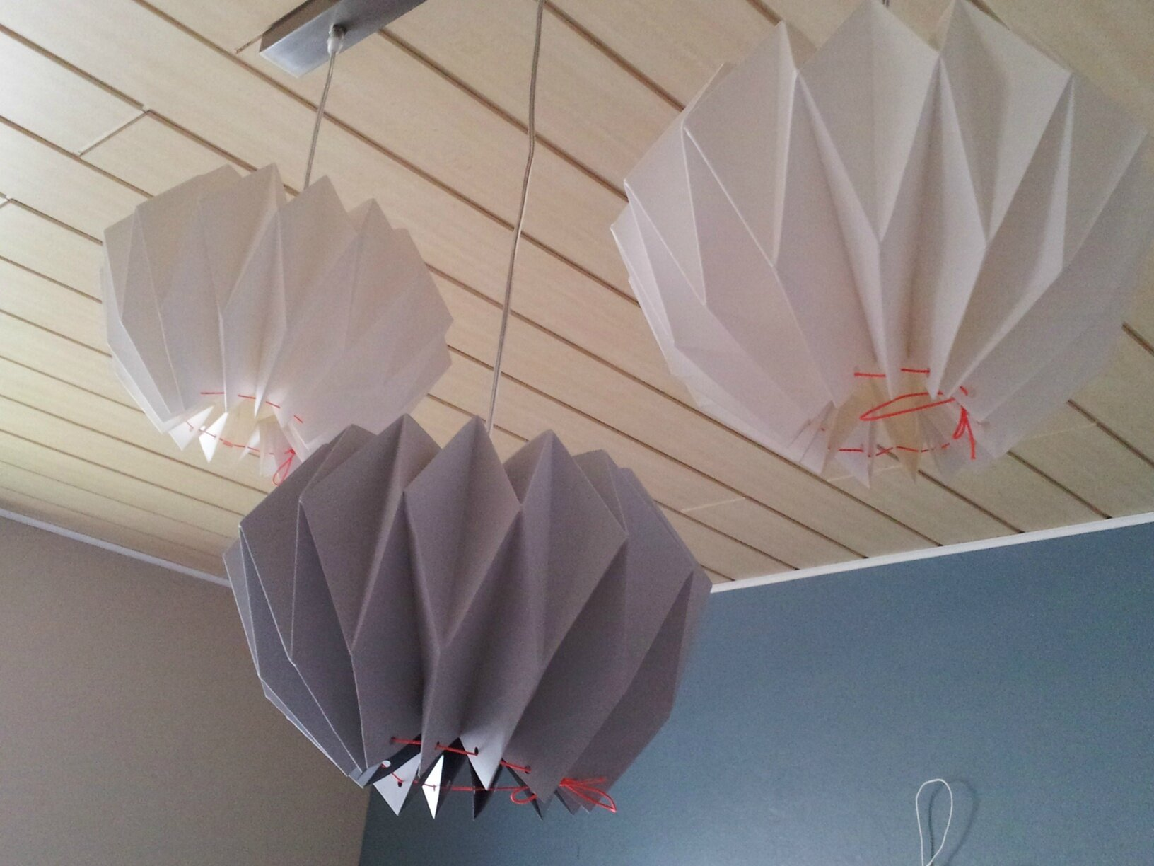 Abat Jour Origami. Finest Lampe Poser Origami Stripe With ... - photo#45
