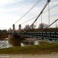 Le pont suspendu de Chatillon sur Loire (45)