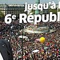 Convoquer la constituante pour une nouvelle république-acte majeur de la victoire du 7 mai