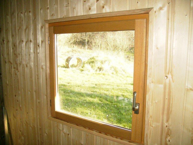 Le lambris int rieur bienvenue sur tang et chalet for Pose d une porte fenetre
