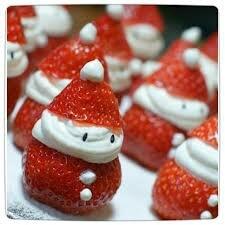 """Résultat de recherche d'images pour """"pere noel en fraise"""""""