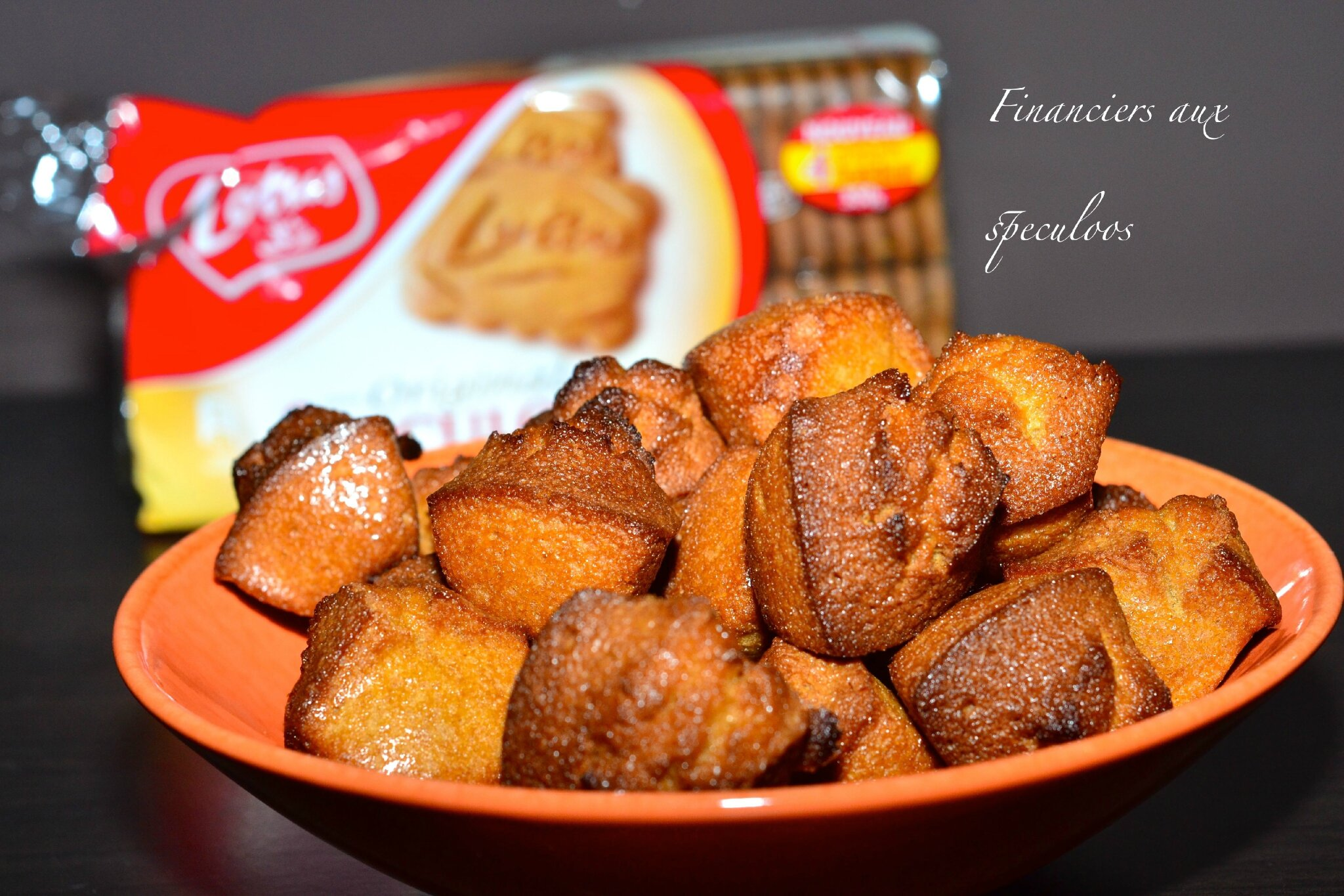 Financiers speculoos