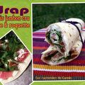 Wrap brebis figue jambon cru & roquette