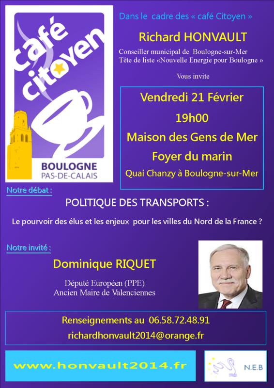 Invitation Cafe citoyen vendredi 21 fevrier