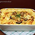 Gratin dauphinois aux cpes d'aprs ric Frchon