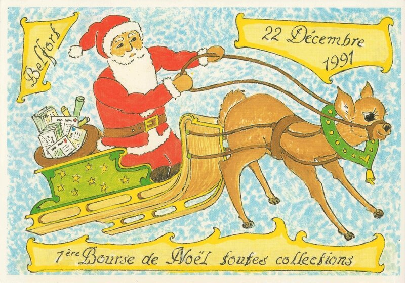 CPM 1991 Bourse Noël GB R