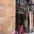 Barcelone - Barri Gotic, vélo, coiffeur_5045