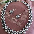 Bijoux tout en perles tissées