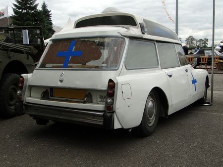 CITROEN DS 20 Ambulance 1974 Bourse de Crehange 2009 3